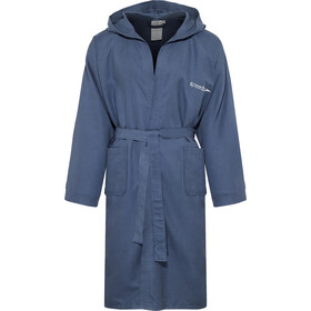 speedo Microfiber Bathrobe navy